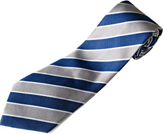 "100% Silk Extra Long Wide Striped Tie For Big and Tall Men (available in 63"" XL and 70"" XXL)"