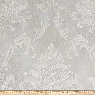 Fabricut Meryl Wallpaper Soft Gray (Double Roll)