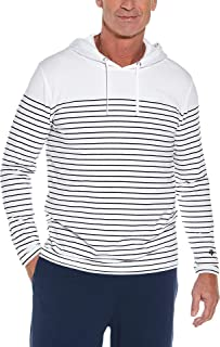 Coolibar UPF 50+ Men's Oasis Pullover Hoodie - Sun Protective