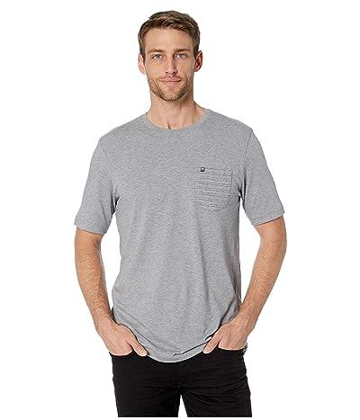 TravisMathew Cheat Sheet T-Shirt (Heather Grey) Men