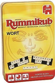 Disney Jumbo 03974 Original Rummikub Word Game Compact in Metal Tin [English Language not Guaranteed]