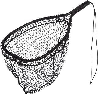 Ed Cumings Inc B-135 Ed Cumings Fish Saver Landing Net (Black, 14-Inch x 11-Inch Bow x 19 1/2-Inch Overall Length x 12-Inch Depth)
