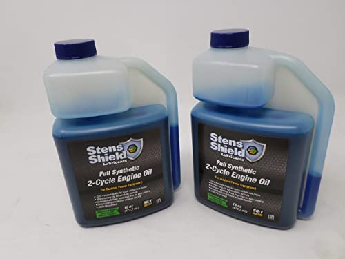 wholesale Stens 770-160 2-Cycle 50:1 Full Synthetic Oil online 16oz discount Easy to Measure Bottle (Pack of 2) online