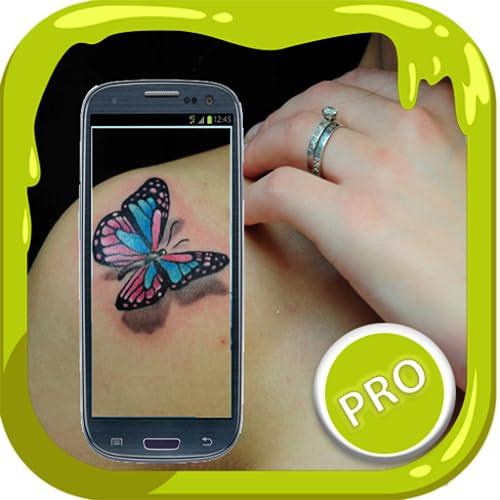 Tattoo camera photo design app