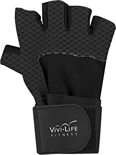 Vivilife Fitness Adjustable and Ergonomic Compact Hand Grip Strengthens Hands, Wrists and Forearms- 22-88 lb Resistance, B...
