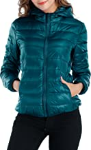 Sarin Mathews Womens Packable Ultra Lightweight Down Jacket Outwear Puffer Coats