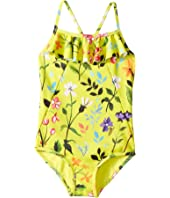 Oscar de la Renta Childrenswear - Springfield Ruffle Swimsuit (Toddler/Little Kids/Big Kids)