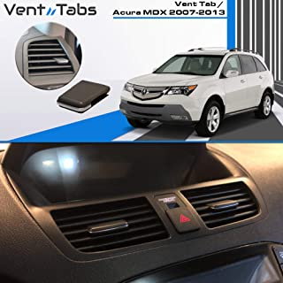 Venttabs for Acura MDX 2007-2013 Air Conditioning Vent Replacement Tab | 30-Second Installation | Easy Clip on | No Screws or Tools Required | American Design - Vent Outlet Tab Clip