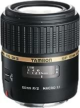 Tamron AF 60mm f/2.0 SP DI II LD IF 1:1 Macro Lens for Nikon Digital SLR Cameras (Model G005NII) (Renewed)