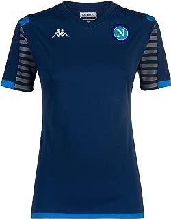 Ssc Napoli Italian Serie A Women's T-Shirt Woman, Blue, XS