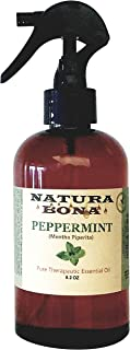 Peppermint Spray Oil Use to Naturally Repel Mice, Ants, Spiders, Mosquitoes, Roaches and Other Insects; 8.2oz