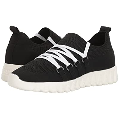 bernie mev. Zip-Up (Black/Cream Sole) Women