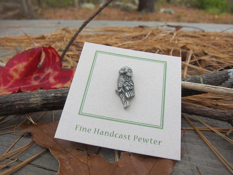 Jim Clift Design Owl Lapel Pin