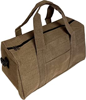 21 inch Solid Duffel (Brown)