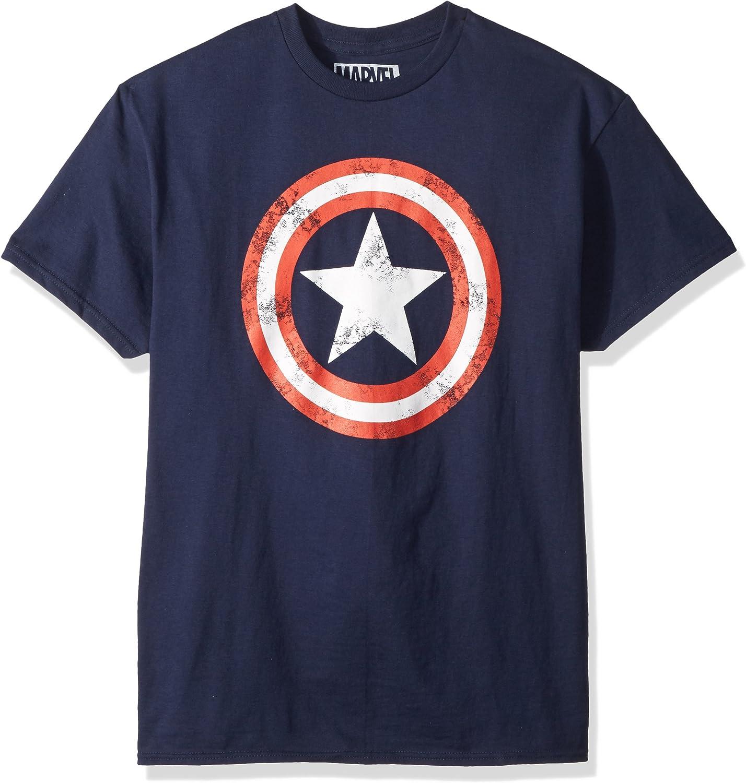 Marvel Captain America Men's 80's Captain America T-Shirt: Clothing