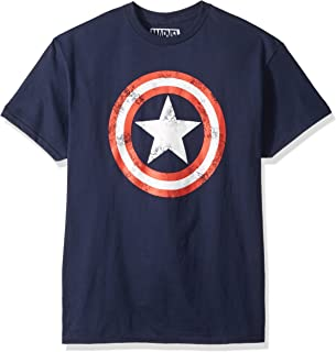 Marvel Mad Engine Captain America Men's Shield T-Shirt