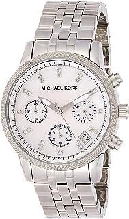 Michael Kors Women's MK5020 - Ladies Chronograph Silver Watch