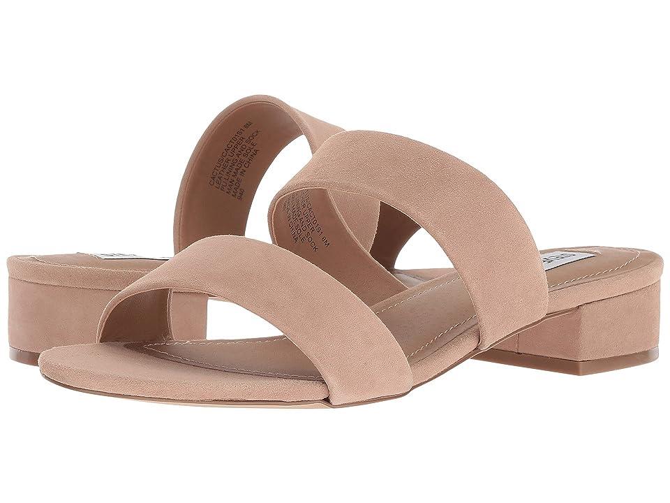 Steve Madden Cactus Slide Sandal (Tan Suede) Women