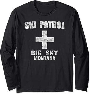 Retro Official Big Sky Montana Ski Patrol T-Shirt