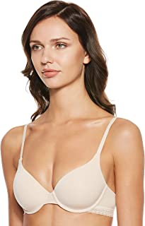 Tommy Hilfiger Women's Uw0Uw00330-Beige Tommy Hilfiger T-Shirt Bra for Women - Beige