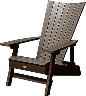 Highwood AD-ADRID29A-ACE Manhattan Beach Adirondack Chair, One Size, Weathered Acorn
