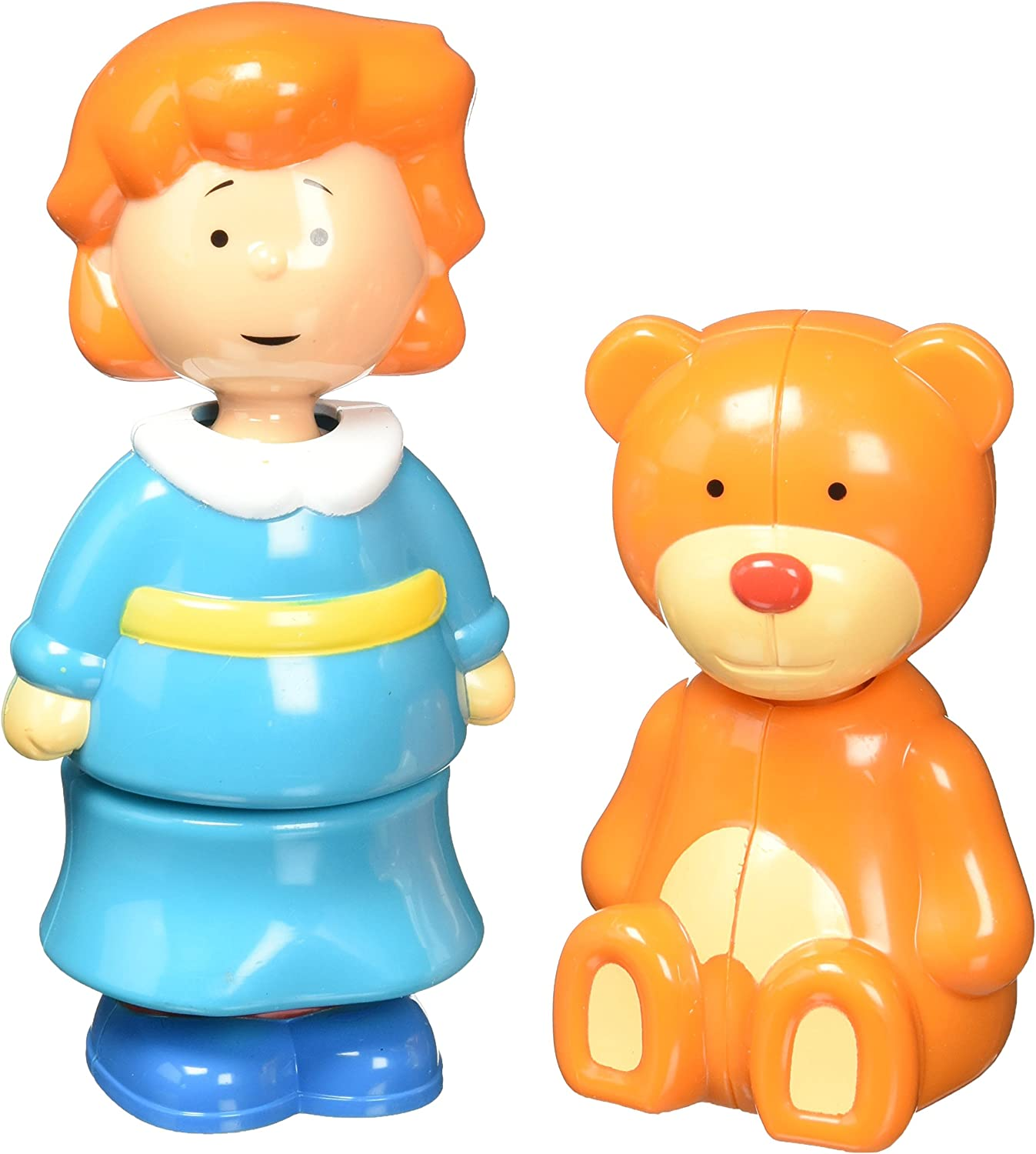 Caillou Collectible Figures  Rosie and Teddy