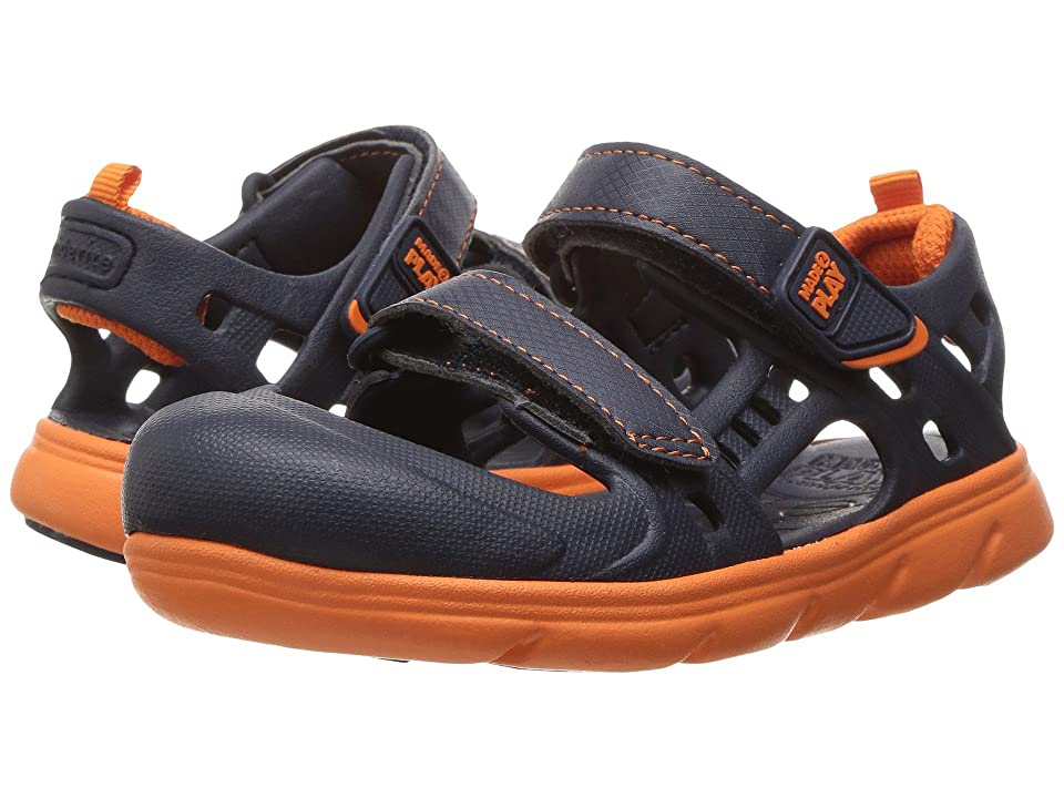 Stride Rite Made 2 Play Phibian (Toddler) (Navy) Boys Shoes