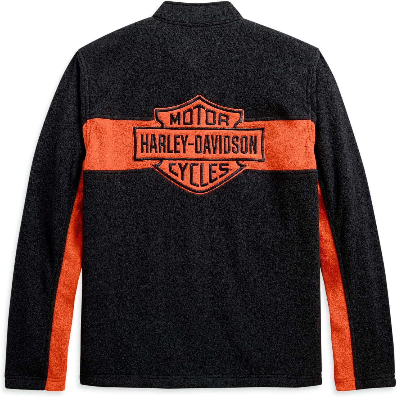 Harley Davidson Men S Fleece Jacket With Hand Warmer Pockets Xl Auto