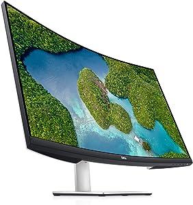 Dell S2721QS 27 Inch 4K UHD (3840 x 2160) IPS Ultra-Thin Bezel Monitor, AMD FreeSync (HDMI, DisplayPort), VESA Certified, Silver