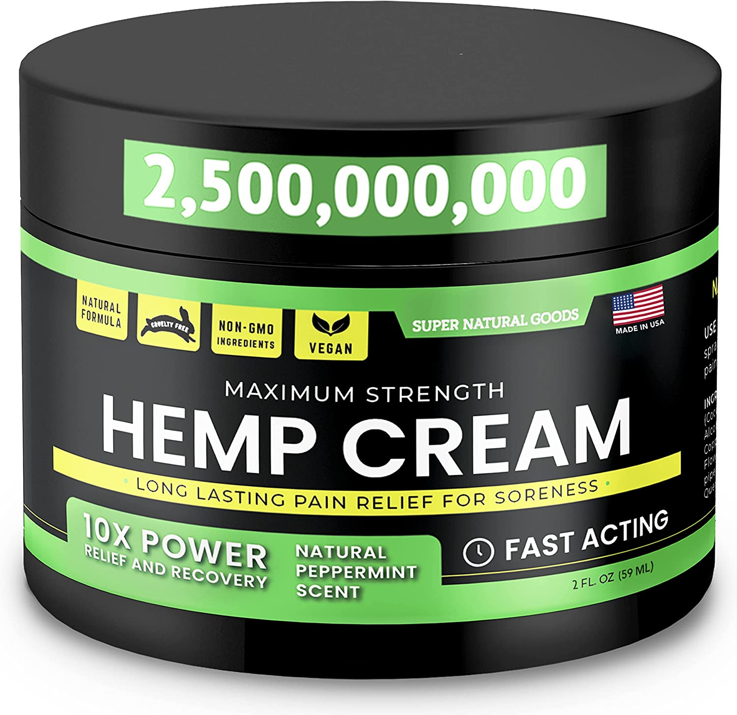 Purchase Hemp Cream - Made in USA 2 fl Gorgeous Fast with oz Acting Arni