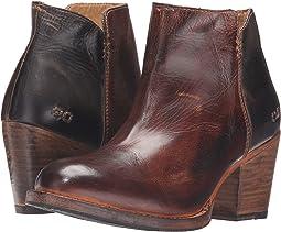 Teak Black Rustic Rust Leather