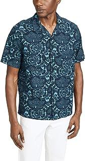 Vince Men's Lotus Leaf Cabana Shirt