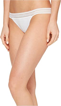 DKNY Intimates - Classic Cotton Bikini Lace Trim