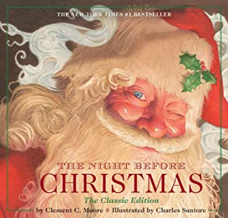 The Night Before Christmas Hardcover: The Classic Edition, The New York Times Bestseller (Christmas Book)