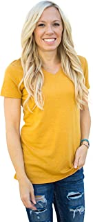 Fownd Better Basics Short Sleeve T Shirts for Women, Softer Everyday Womens Tops
