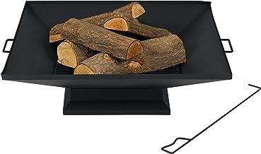 TeproPenfield Feuerstelle, schwarz, 79.8 x 91 x 25.8 cm