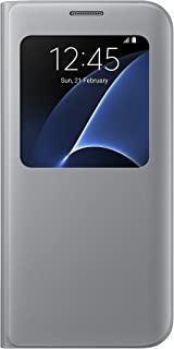 Samsung Galaxy S7 Edge S View Cover - Silver - [Trusted Australian Seller]