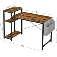 Deals on VASAGLE Study Writing Desk on Sale from $51.99