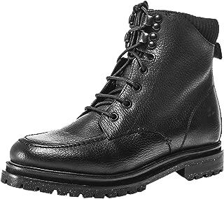 Hudson London Women's Marlow Leather Hiker Boots Black