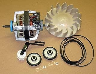 Major Appliances COMBO5 Dryer Motor 279827 Blower 694089 Belt Idler Rollers 4392065 for Whirlpool