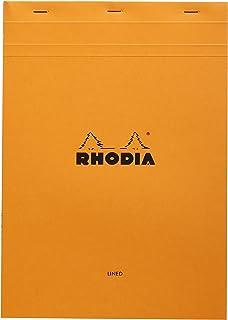 Rhodia Stapled Notepad Stapled Notepad, Orange, 1 (CR-18600)