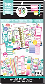 me & my BIG ideas PPSV-53-3048 The Happy Planner Value Pack Stickers
