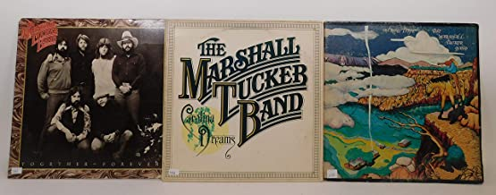 The Marshall Tucker Band Lot of 3 Vinyl Record Albums A New Life and more