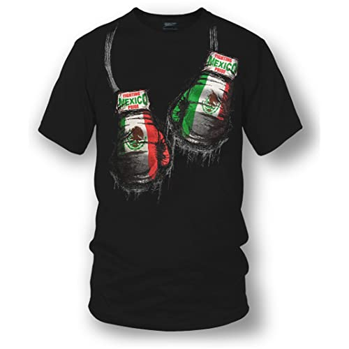 Wicked Metal Mexico Boxing Shirt, Mexican Pride