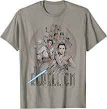 Star Wars The Rise of Skywalker The Rebellion Heroes T-Shirt