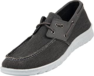 Men's Comfortable Classic Canvas 2-Eye Boat Shoes