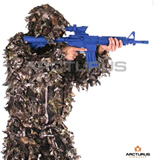Arcturus 3D Leafy Ghillie Suit – Over 1,000 Laser-Cut Leaves | Lightweight,..