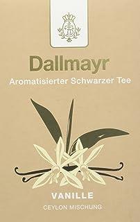 Dallmayr Aromatisierter Schwarztee - Vanille, 8er Pack 8 x 100 g