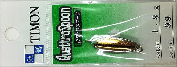 JACKALL(ジャッカル) スプーン ティモン クワトロスプーン 24.9mm 1.3g コハク #99