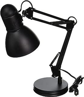 Boston Harbor TL-WK-134E-BK-3L Swing Arm Adjustable Desk Lamp, 60 W, A19, Black